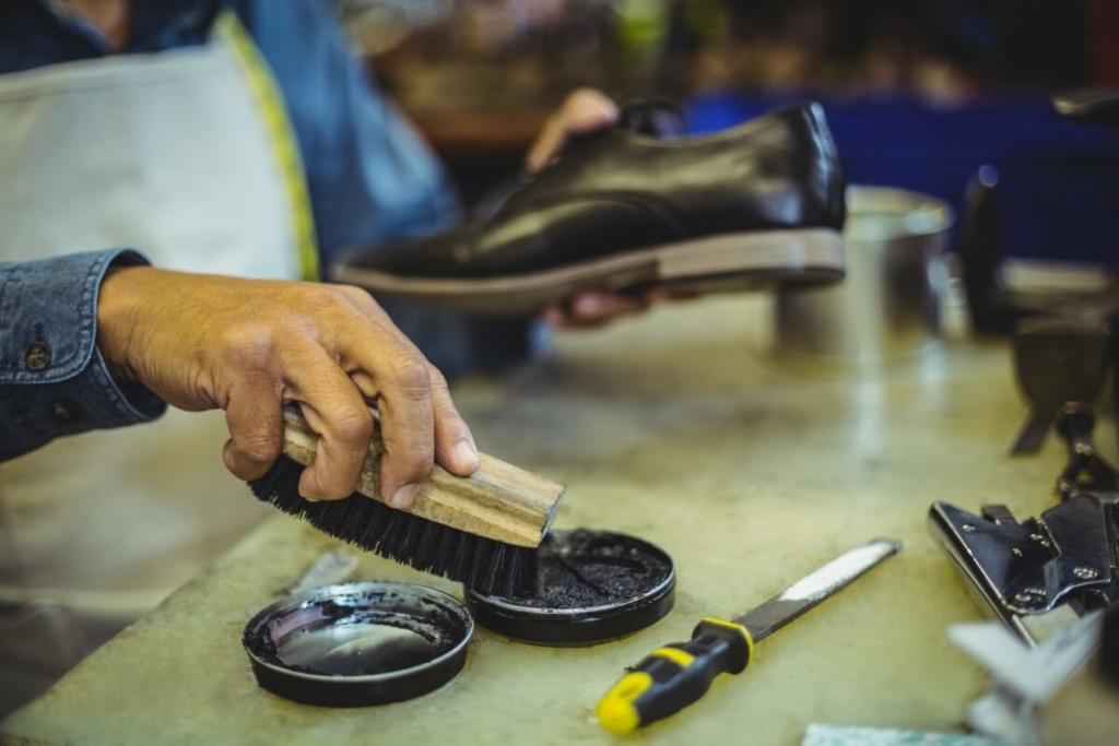 靴磨きをやりすぎたらどうなの?